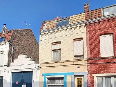 MAISON A VENDRE - ROUBAIX - 141 m2 - 63000 €