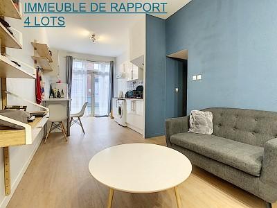 IMMEUBLE DE RAPPORT A VENDRE - LILLE - 150 m2 - 355000 €