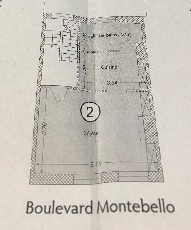 APPARTEMENT T1 - LILLE MONTEBELLO - 30,14 m2 - VENDU