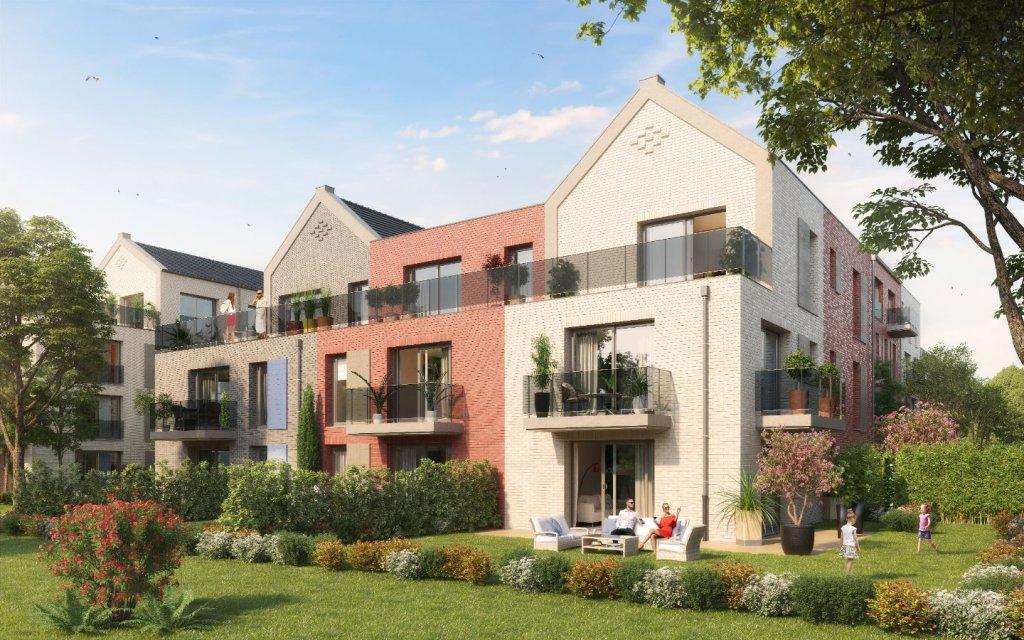 APPARTEMENT T3 NEUF A VENDRE - MOUVAUX - 78 m2 - 320000 €
